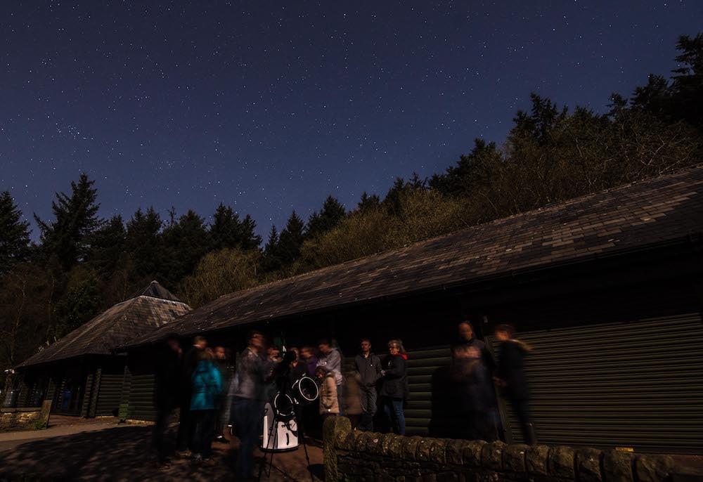 Stargazing in Bowland - Beacon Fell