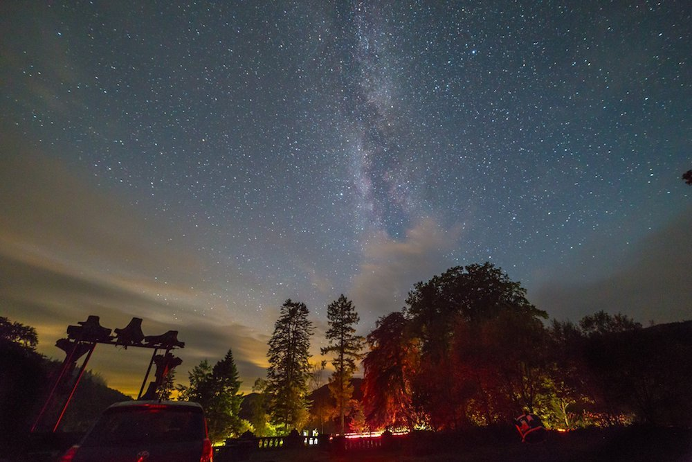 Late Night Stargazing at Grizedale