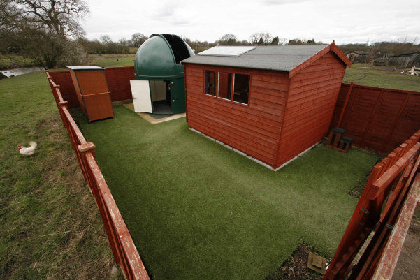 See the Perseids at High Legh Community Observatory