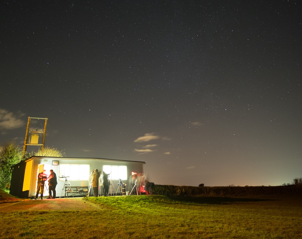 North Wales Astro Society Observing Night
