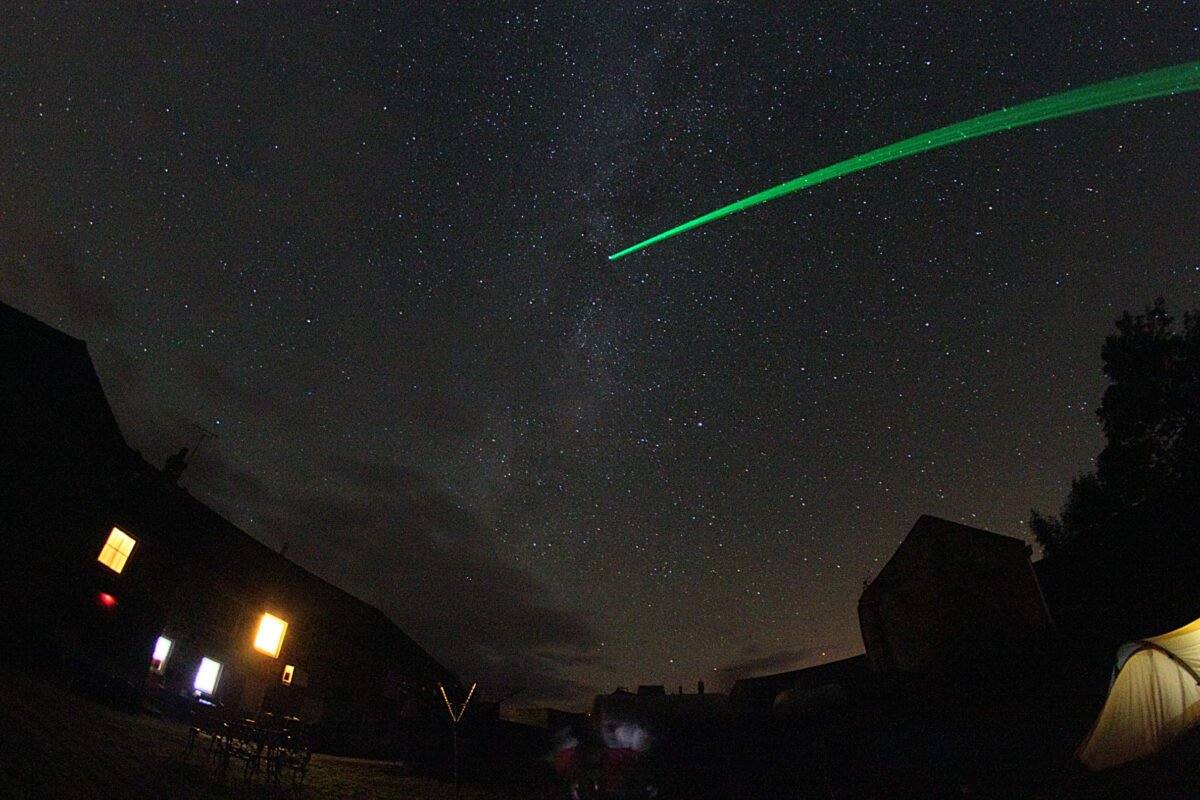 Geminids Meteor Shower at Redesdale Arms