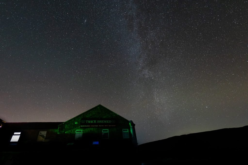 Go Stargazing at the Twice Brewed Observatory