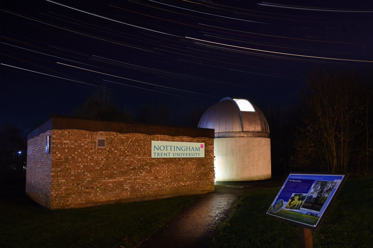 Open Dome Night at Trent Astronomical Observatory