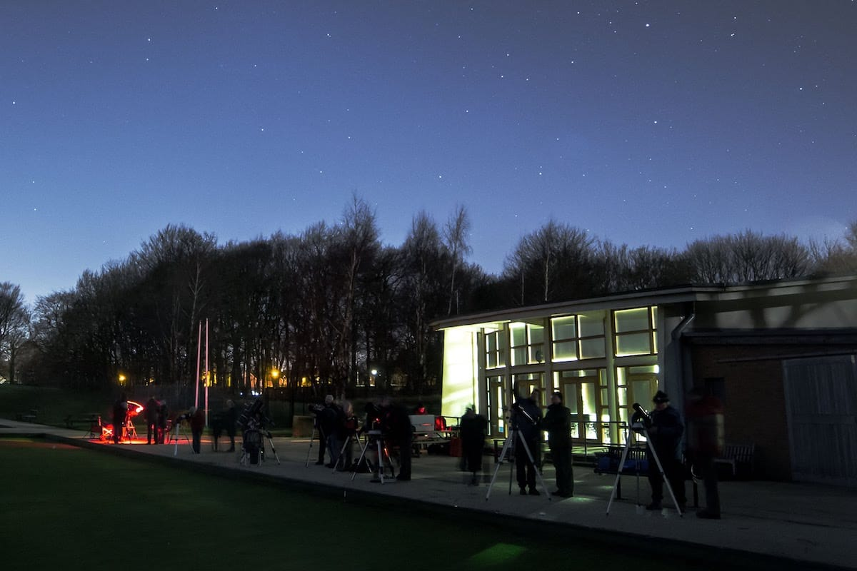 Stargazing for Beginners with Heaton Park Astronomy Group