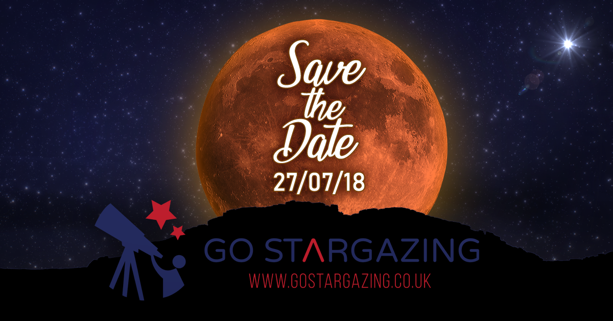 See the Lunar Eclipse, Planets and Space Station on 27th July 2018