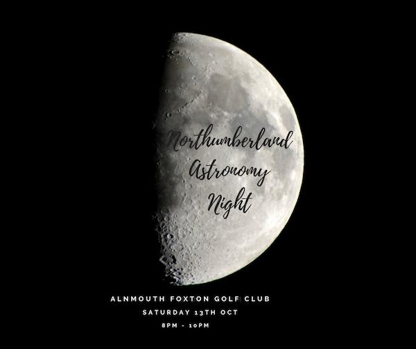 Northumberland Astronomy Night - Half Moon Night