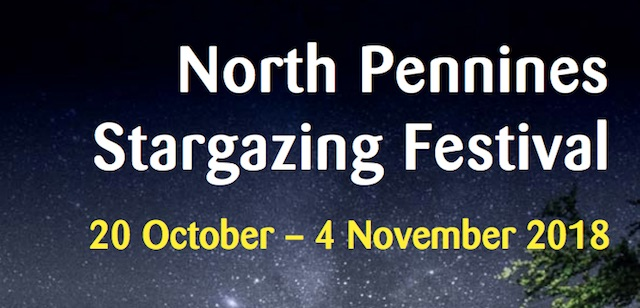 North Pennines Stargazing Festival 2018