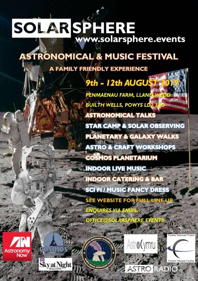 Solarsphere Astronomical & Music Festival 2019