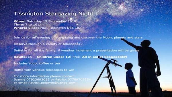 Tissington Stargazing Night