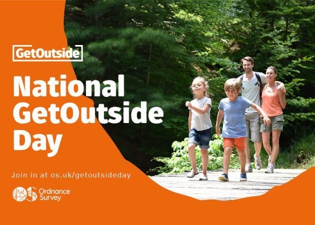 Get Outside with Ordnance Survey!