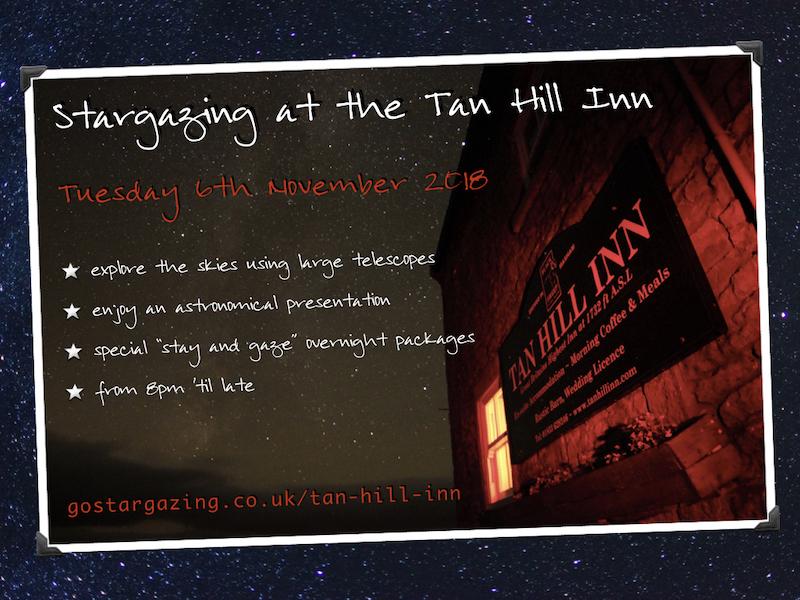 Stargazing at the Tan Hill Inn