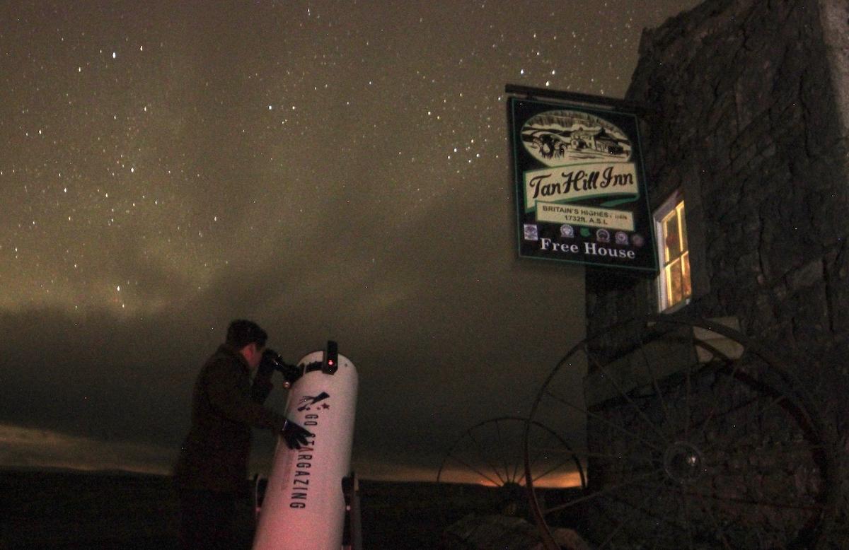 Dark Skies Stargazing at the Tan Hill Inn