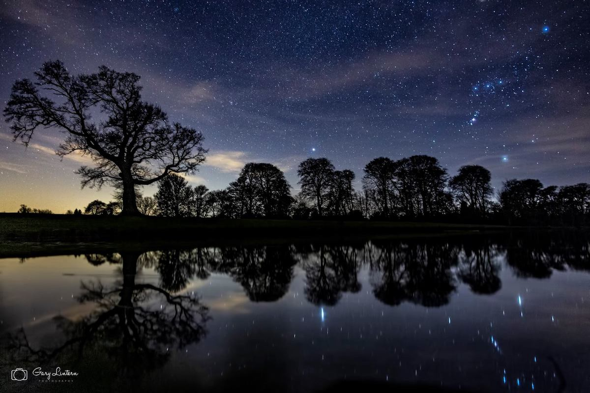 Astrophotography at Raby Castle