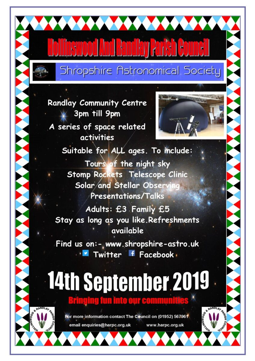 Stargazing with Shropshire Astronomical Society
