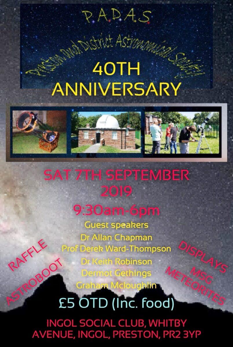PADAS 40th Anniversary Celebration Event