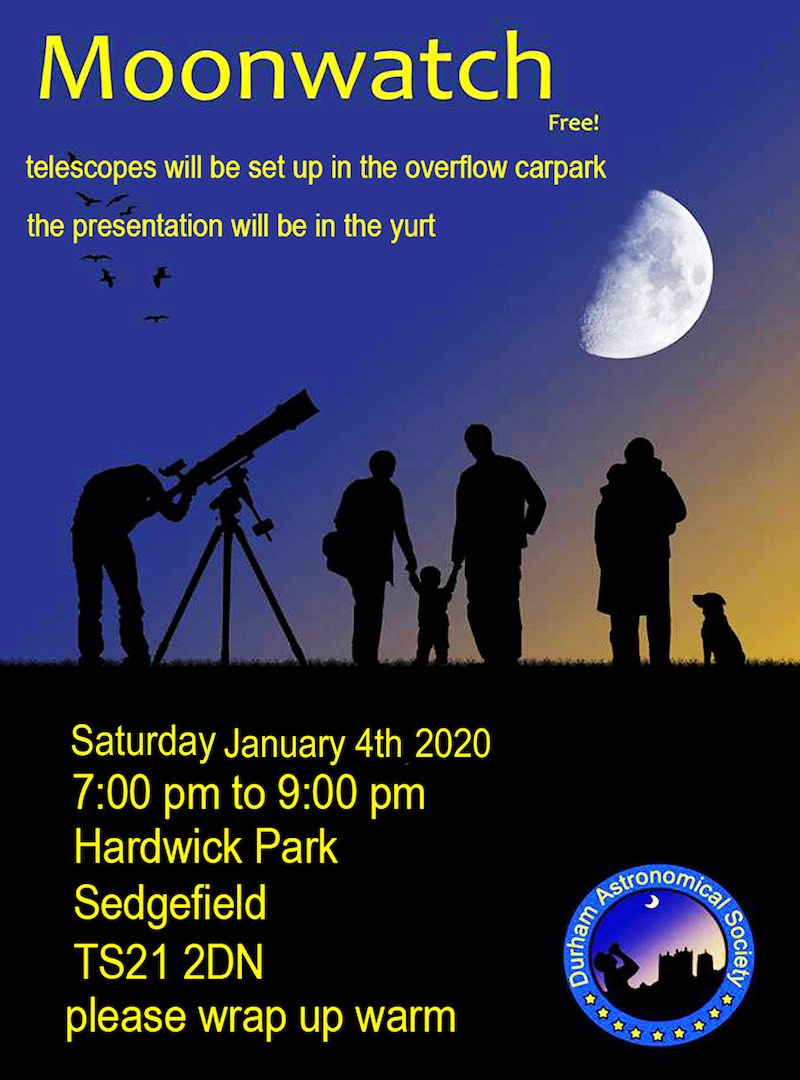 Moonwatch With Durham Astro
