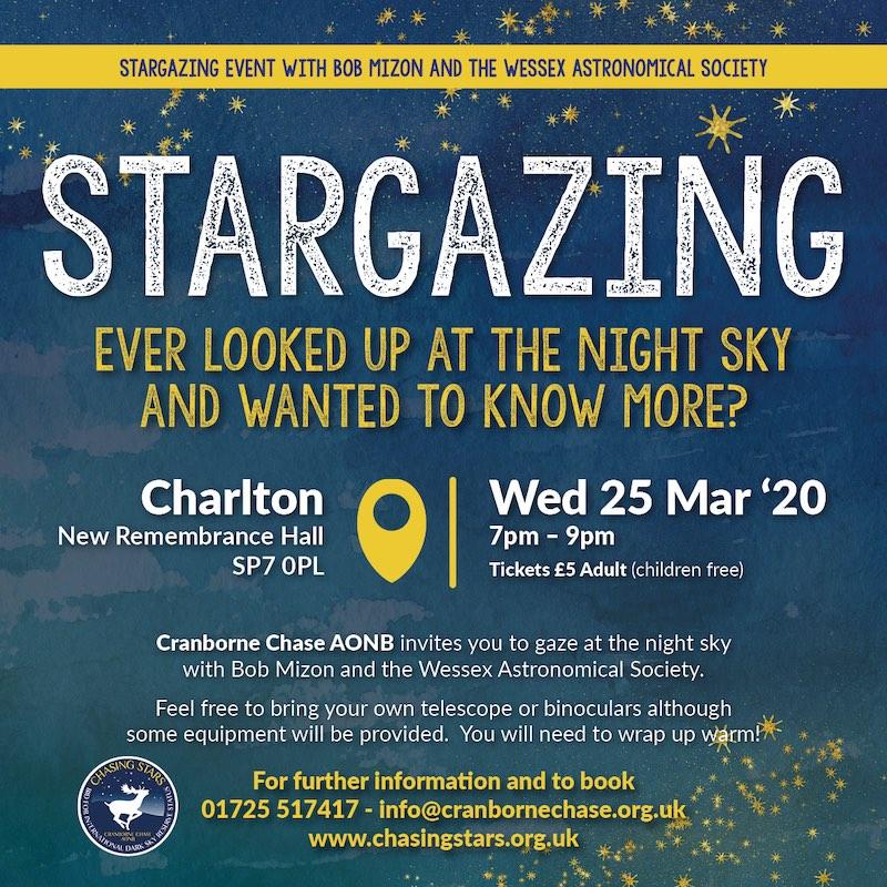 Stargazing Evening with Chasing Stars - Cranborne Chase AONB