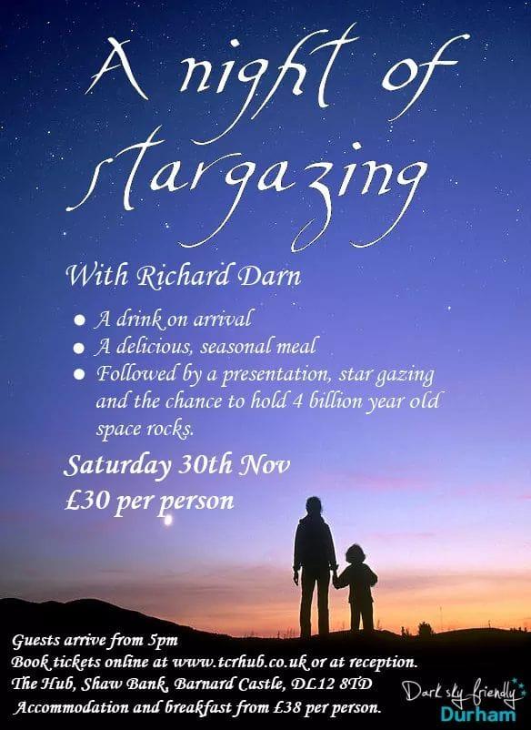 A Night of Stargazing with Astronomer Richard Darn