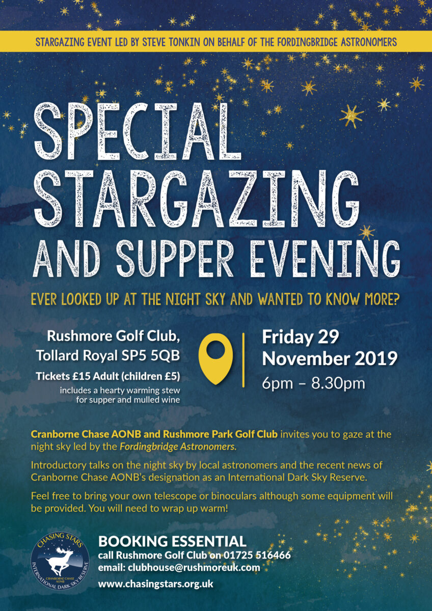 Stargazing and Supper Evening