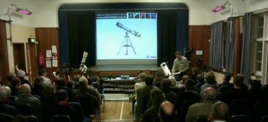 Ashford Astronomical Society Meeting & Observing