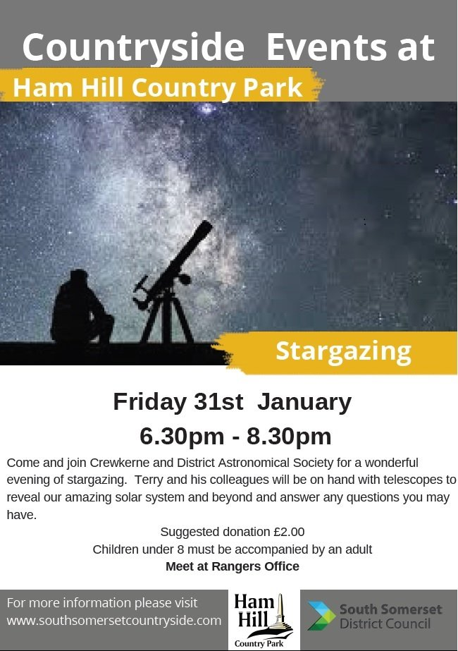 Stargazing at Ham Hill Country Park