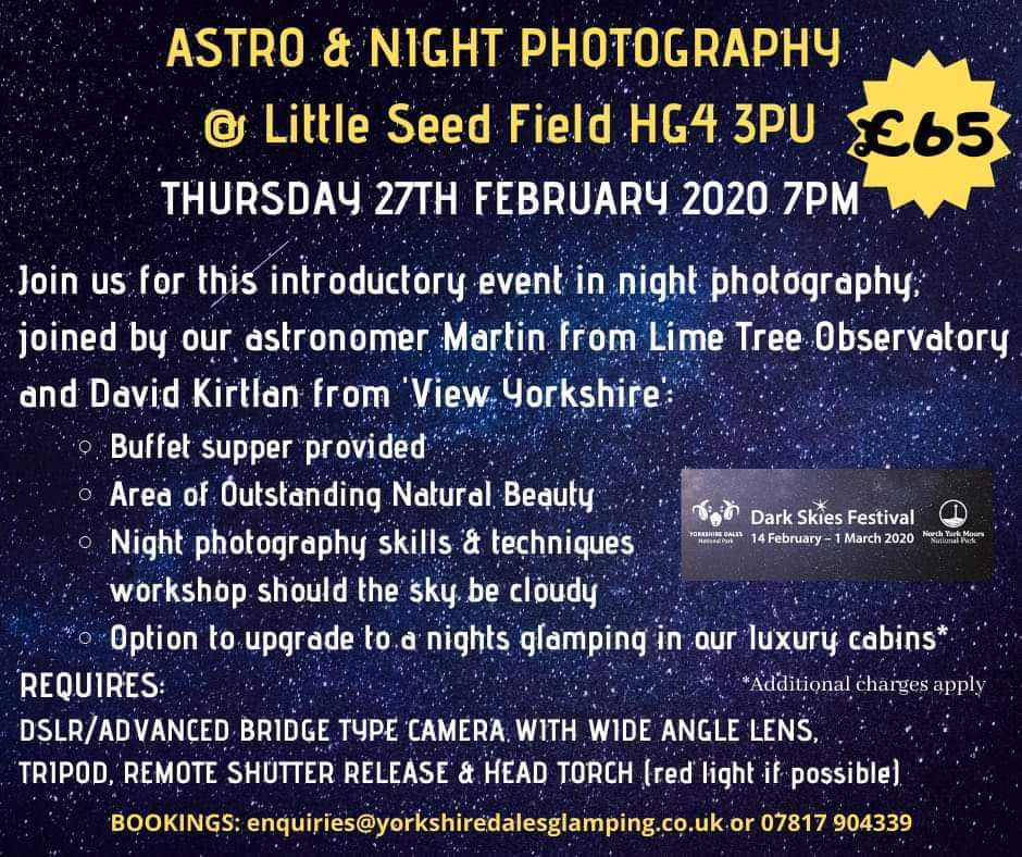 Astro & Night Photography at Little Seed Field