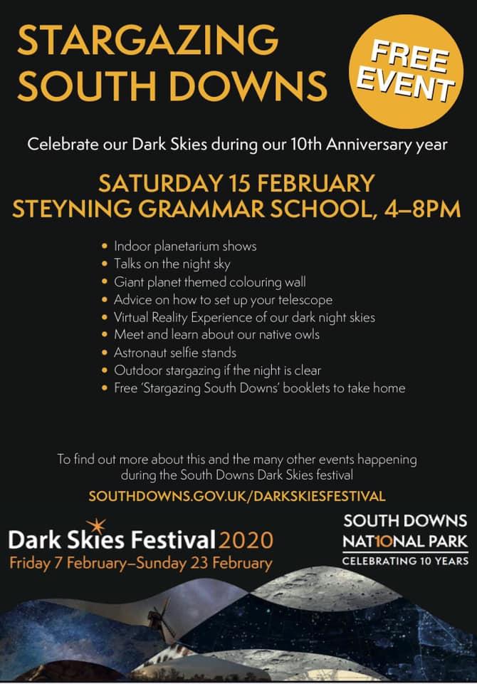 Stargazing South Downs - Steyning