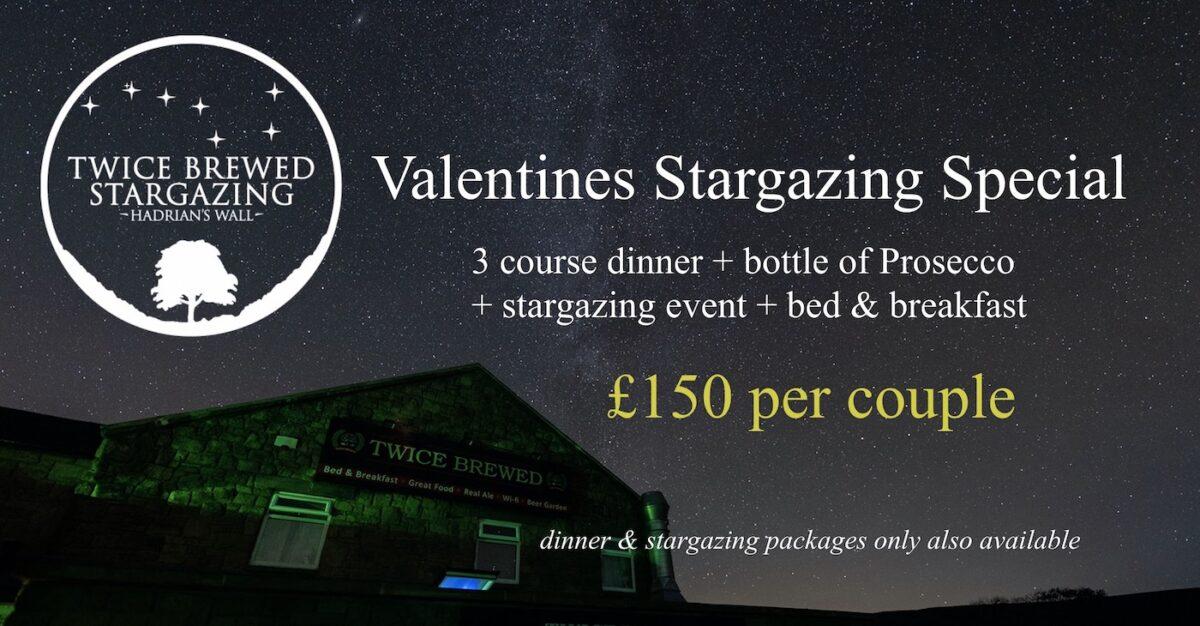 Valentines Stargazing at Twice Brewed