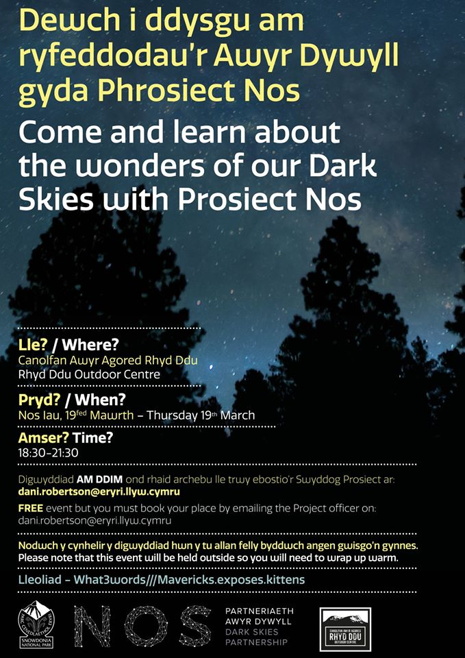 The Wonders of the Dark Skies with Prosiect Nos