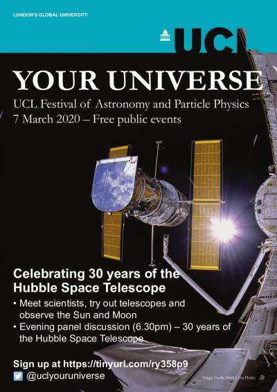 Your Universe Festival at UCL