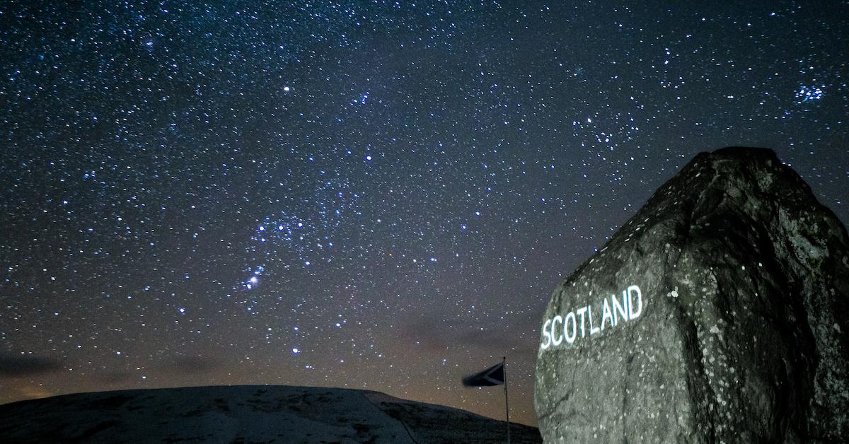 Stargazing in Scotland