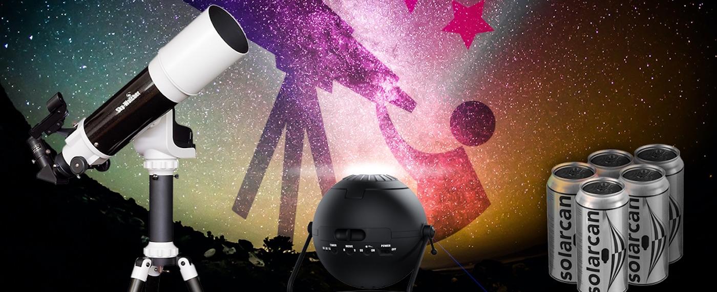 Win a telescope!