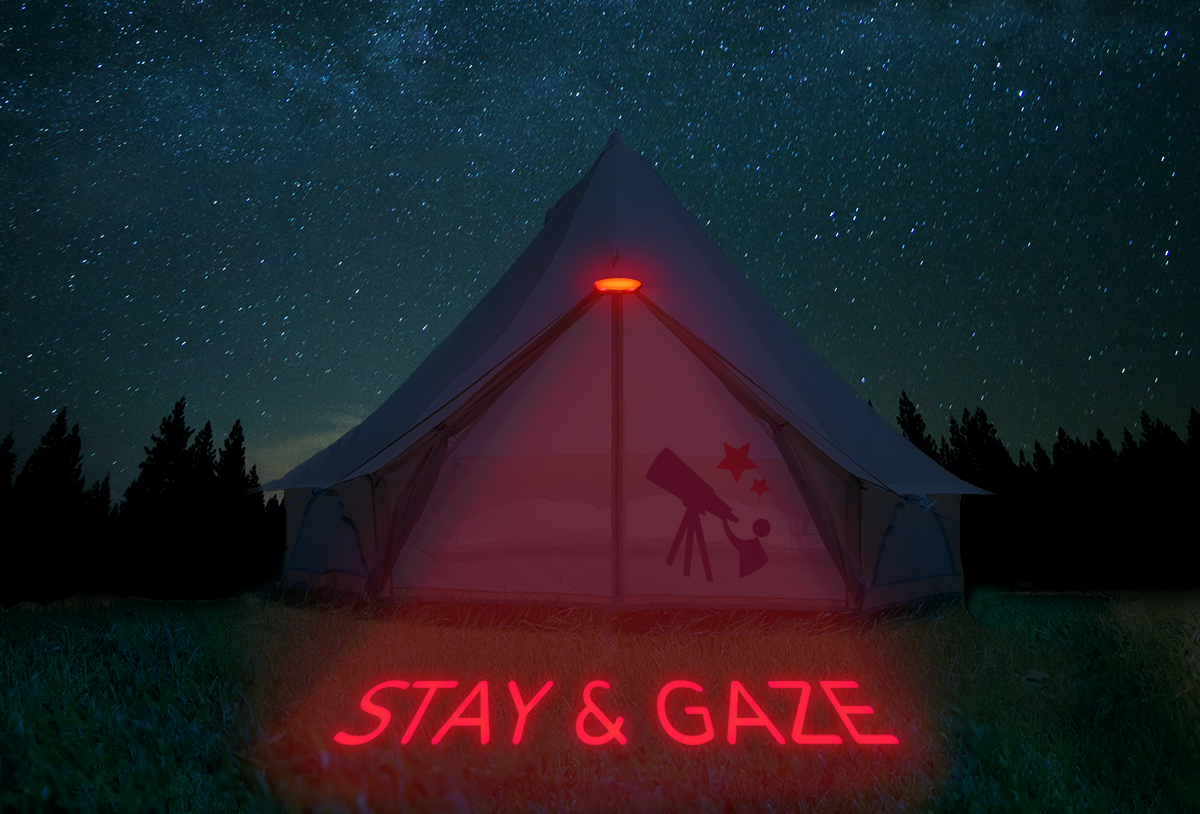 List your stargazing accommodation on our website for free!