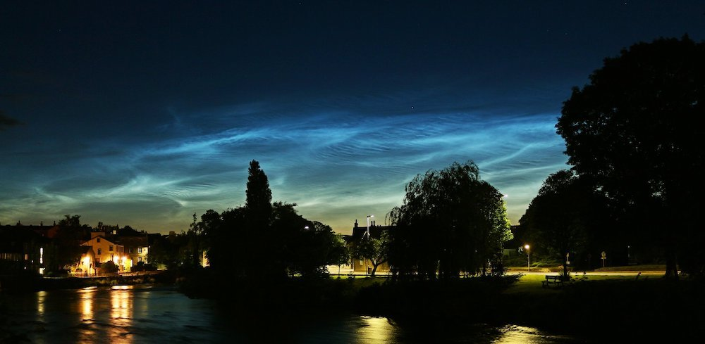 This year's noctilucent cloud season is here!