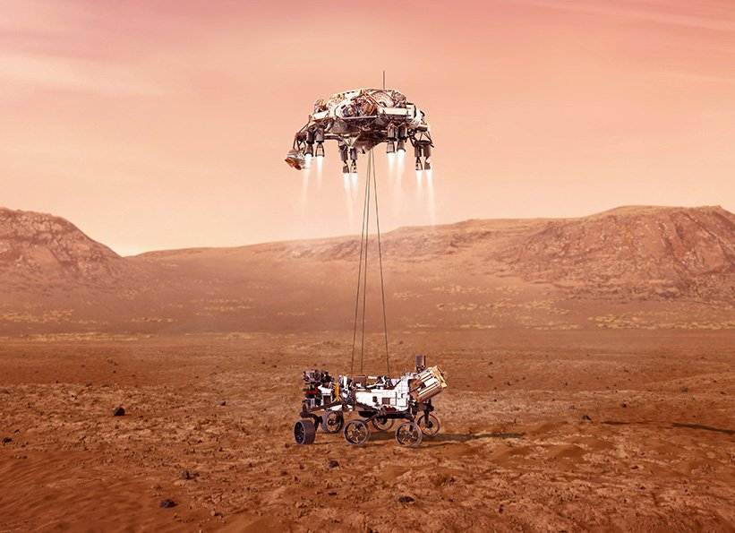 Perseverance Rover Lands on Mars!