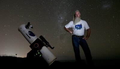 Stargazing down under with Greg Quicke