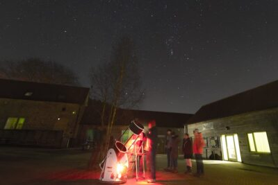 Stargazing at Dalby Forest