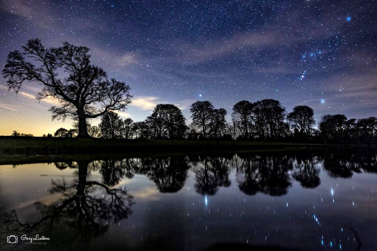 Stargazing at Raby Castle