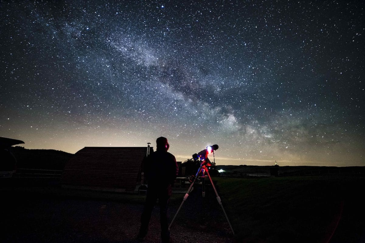 Cambrian Mountains Stargazing Weekend