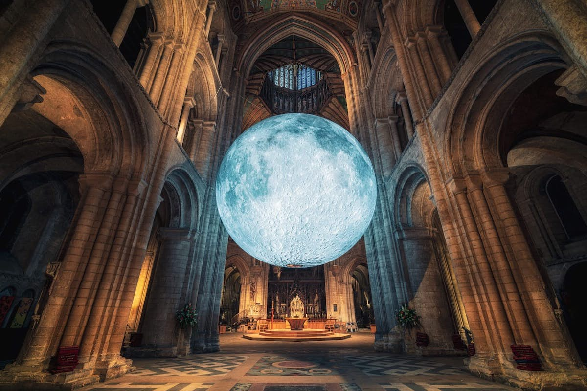 Museum of the Moon talk and stargazing at Durham Cathedral