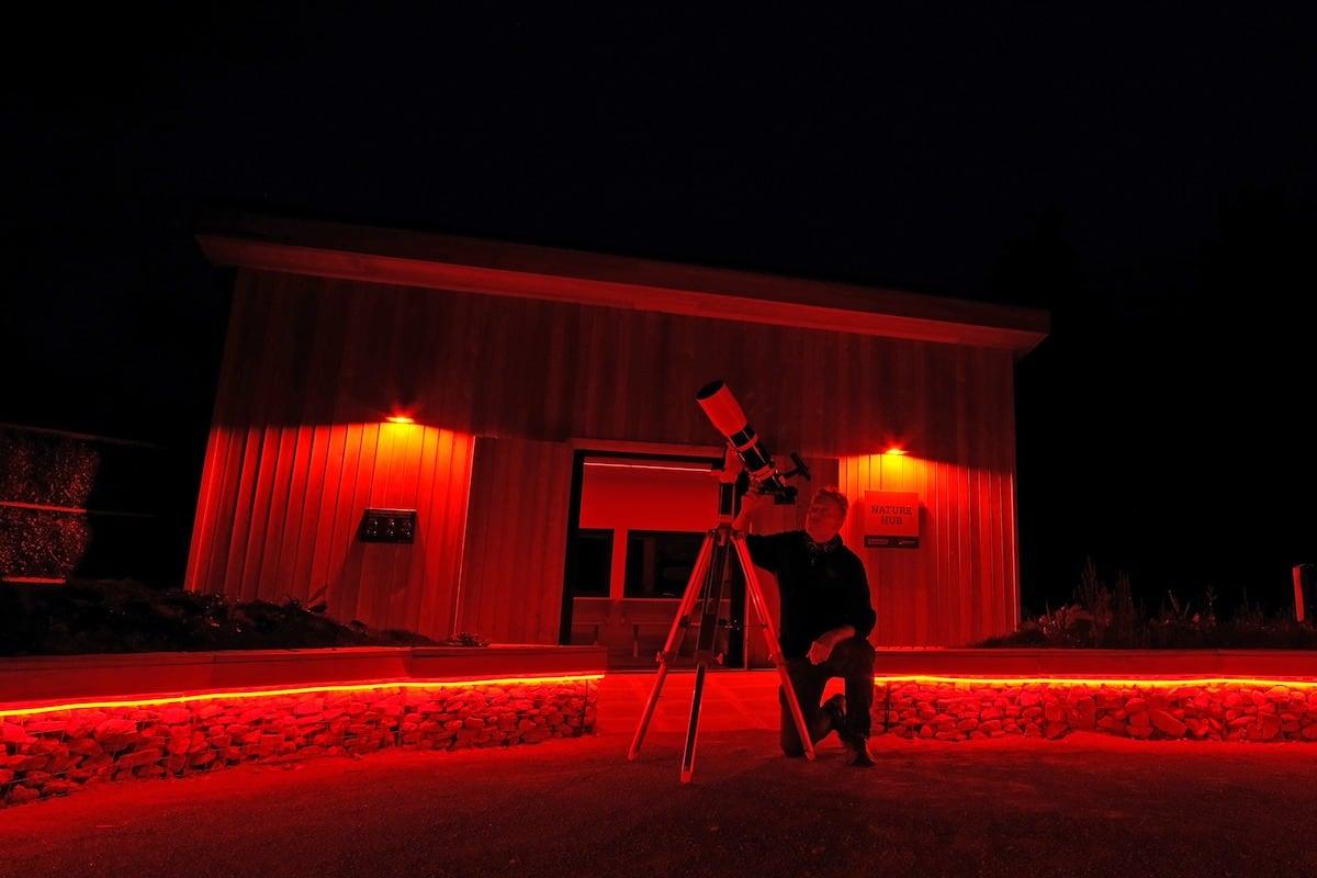 Shooting stars at Sutton Bank
