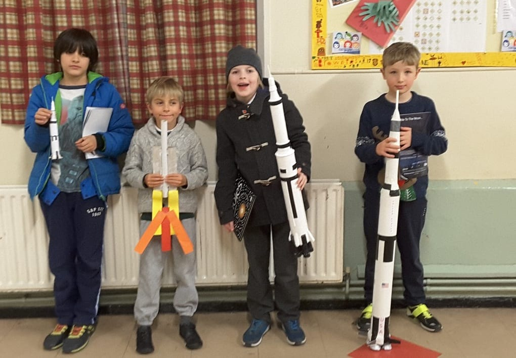 Astrokyds with Loughton Astronomical Society